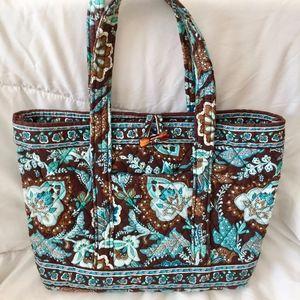 Vera Bradley Java Blue Tote Bag